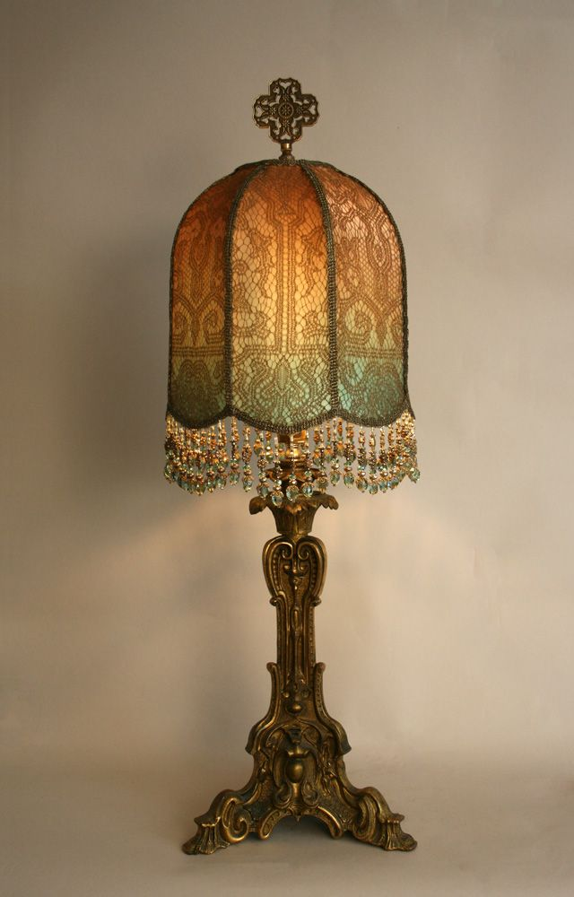 35 best Lamps images on Pinterest   Victorian lamp shades ...
