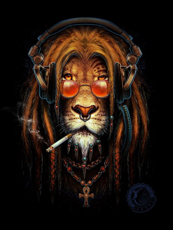 Lion rasta on Behance