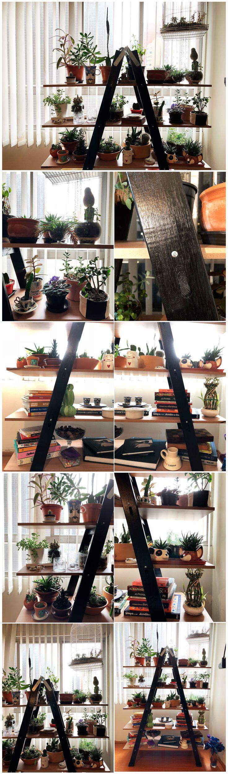 DIY – Minha Estante Escada