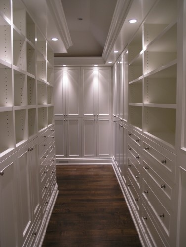 master closet, a wow.
