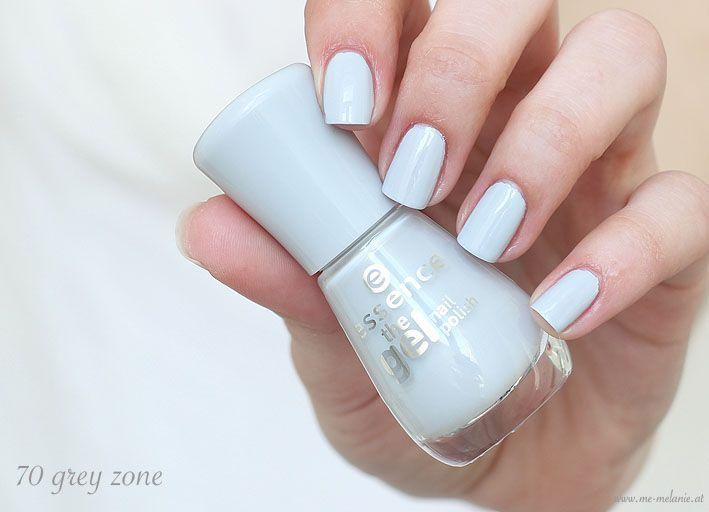 essence the gel nail polish - 70 grey zone