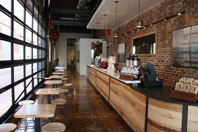 La Colombe in Blagden Alley in Washington DC   latte  coffee shop