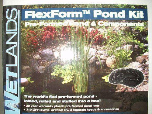 46 best images about garden water gardens ponds on for Plastic water garden pond