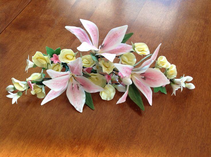 Gumpaste Lilies