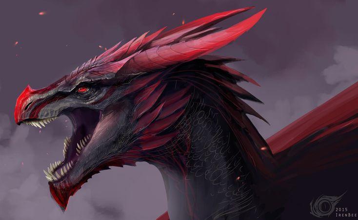 Dragon Viserion Vulom by IrenBee.deviantart.com on @DeviantArt