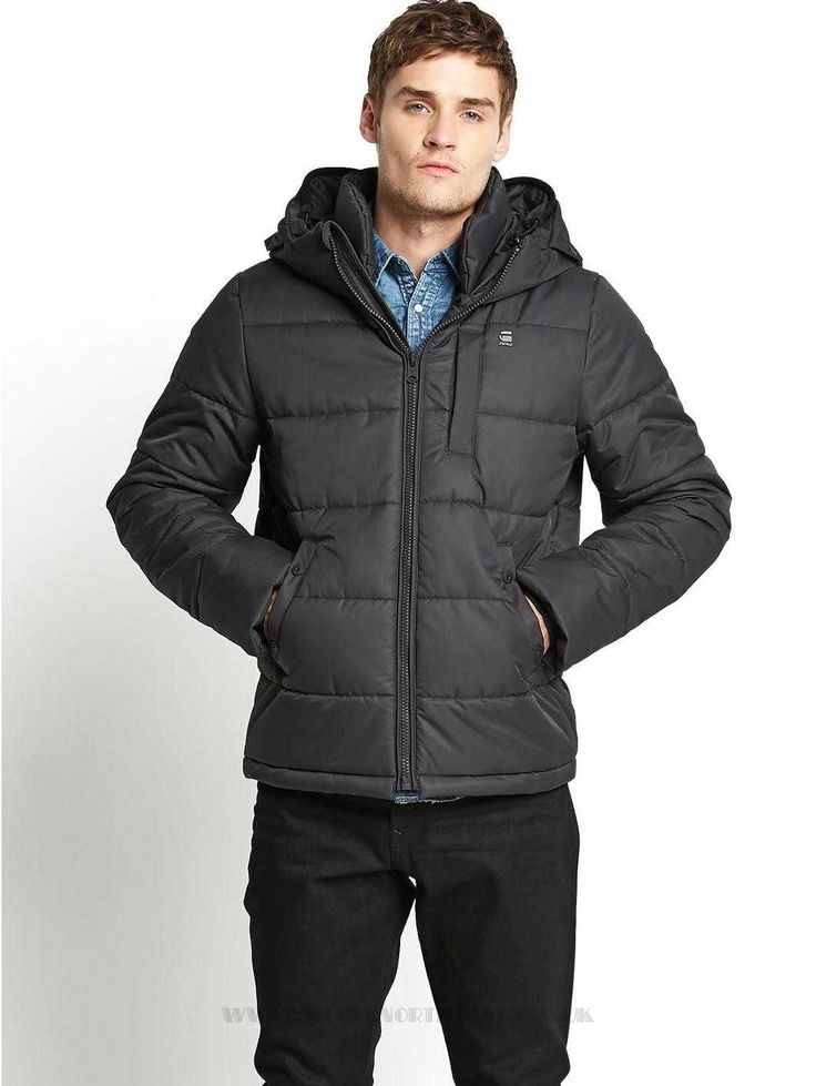 Particular G-Star RAW Mens Whistler Hooded Jacket - Mens Coats - Mens Coats  COLOUR