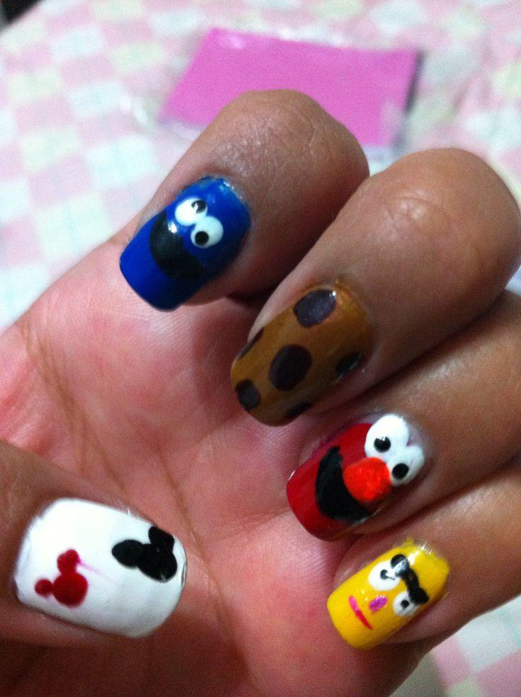 28 mejores imágenes de nails plaza sesamo en Pinterest | Plaza ...