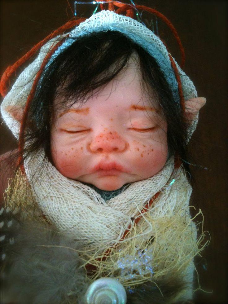 Fairy baby in cream by ~rosannasart on deviantART