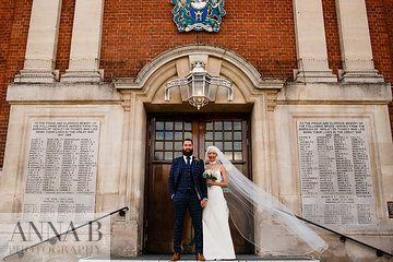 Photo from Georgina and Gareth collection by Anna B Photography Henley Town Hall.  #londonweddingphotographer