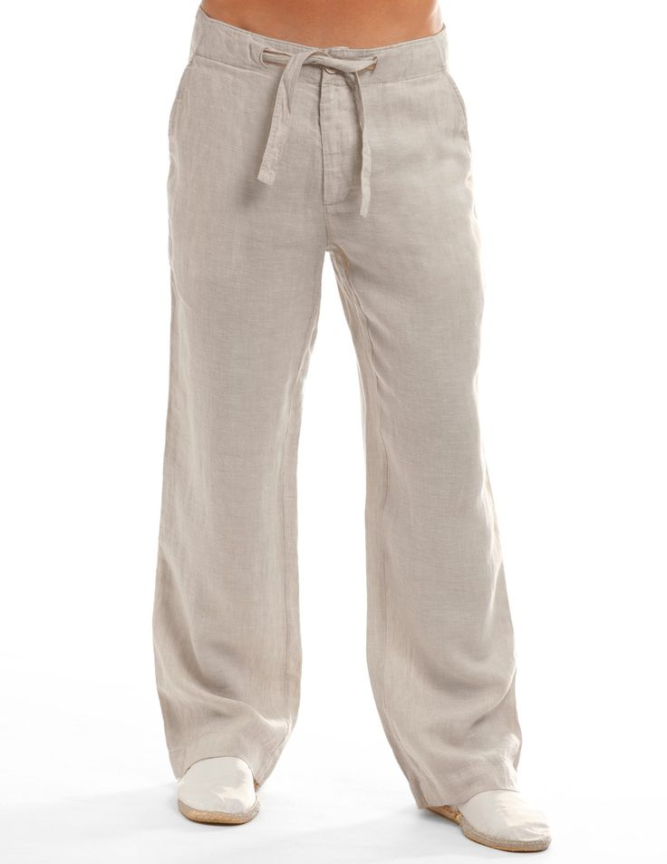 Camel Beachcomber Linen Pants - Linen Pants for Men | Island Company