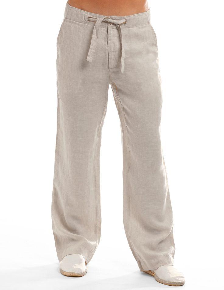 Best 25 Linen Pants For Men Ideas On Pinterest