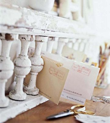 mail becoming vintage concept also ...: Shabby Chic, Mail Organizations, The Offices, Desks, Fleas Marketing Finding, Porch Railings, Mail Sorter, Storage Ideas, Porches Railings