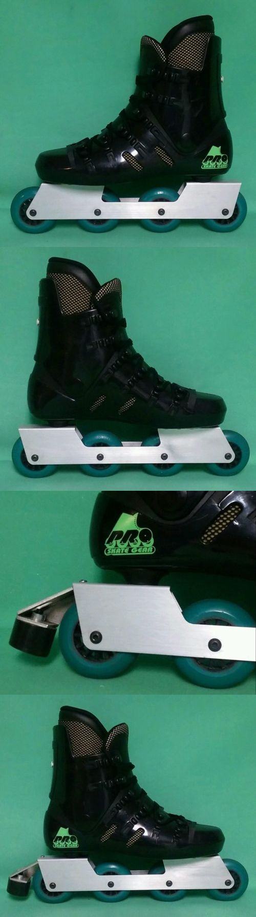 Men 47346: New 80 S Retro Pro Skate Gear Hard Boot Inline Sz 9.5(43) Vintage -> BUY IT NOW ONLY: $78.99 on eBay!