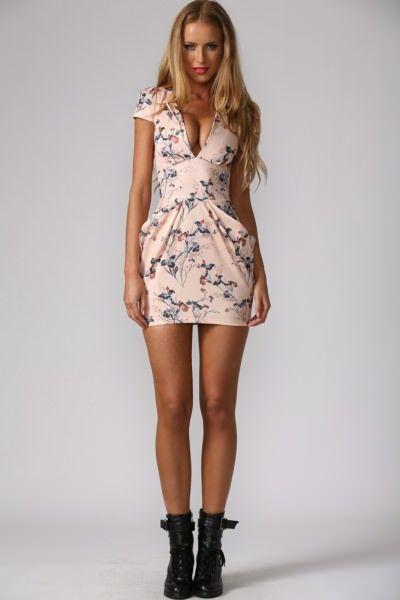 Autumn Dress Pink