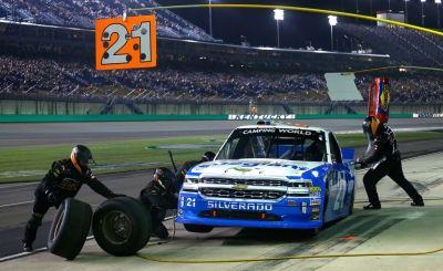 Johnny Sauter No. 21 Allegiant Chevrolet Silverado Kentucky Recap #NASCAR