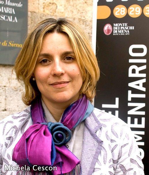 Michela Cescon - Foulard gioiello in seta Gianmarco Russo