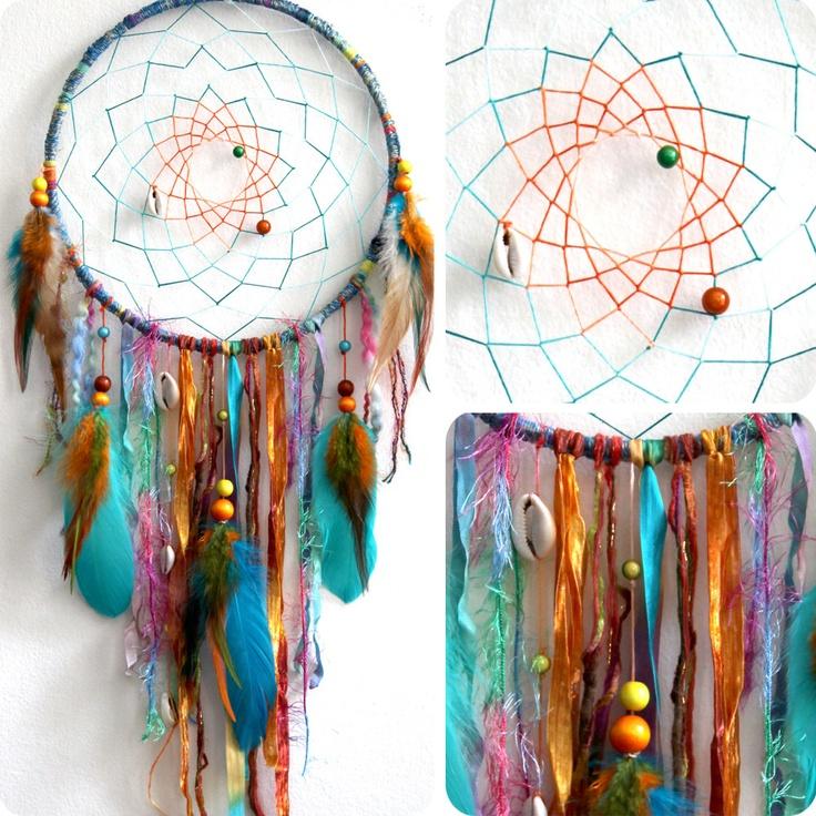 Colorful dream catcher! Want! | Gypsy & Boho Decor ...