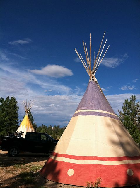 Ruby's Inn Campground, Bryce Canyon National Park, UT   CAN WE STAY IN A TIPI?!?!
