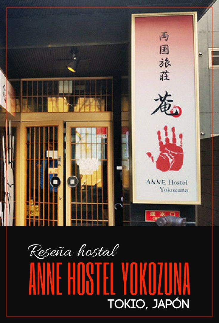 Reseña del Anne Hostel Yokozuna | Tokio, Japón