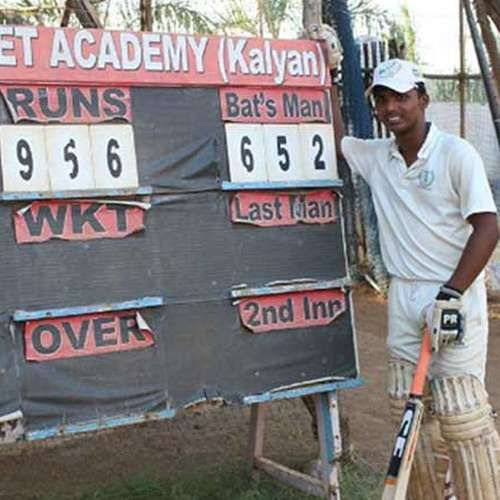 Pranav first broke the 116-year-old record of 628 runs in single knock khaskhabar