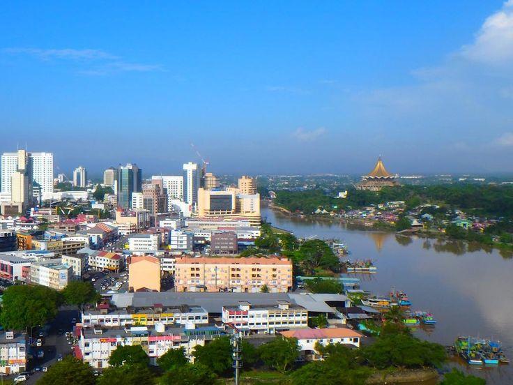 Nice Ein sonniger Morgen in Kuching Im Moment gibt es davon leider nur wenige da bis Ende