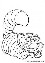 all our printable colouring sheets for kids can be printed out and coloured in we even have queen colouring pictures for children the cheshire cat - Cheshire Cat Smile Coloring Pages