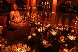 The Budda Bar Paris -  admittedly a chain but put away your foodie frown, the Paris locale has a great chef, sound track and vibe.