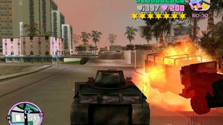 GTA Vice City Cleo Mods: Guerra con la Policia y el Ejercito + Persecuci...