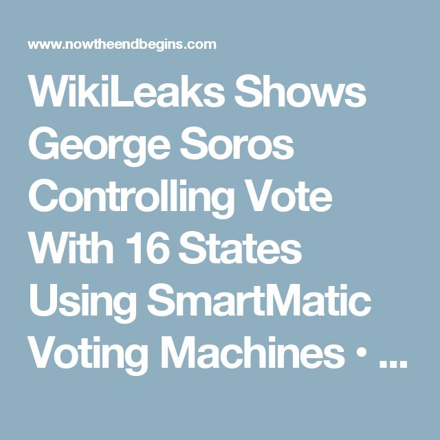 Demand a paper ballot or your vote will be stolen!  List of 16 states here:  AZ, CA, CO, D.C, FL, IL, LA, MI, MO, NJ, NV, OR, PA, VA, WA and WI.
