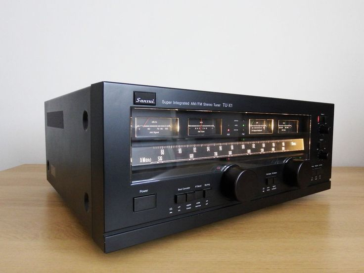 Vintage Sansui TU-X1 Super Intergrated AM FM Tuner / ( SOLD PENDING PAYMENT )