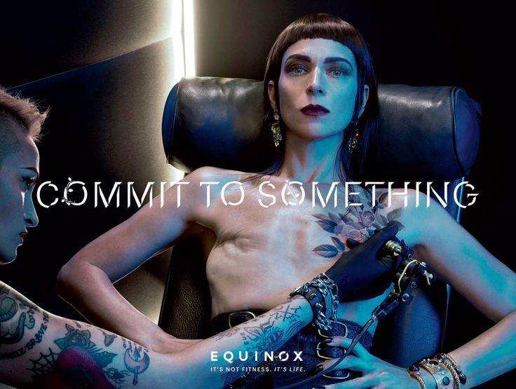 Read more: https://www.luerzersarchive.com/en/magazine/print-detail/equinox-64096.html Equinox It's not fitness. It's life. Campaign for upscale gym Equinox. Tags: Steven Klein Studio, New York,Wieden + Kennedy, New York,Ian Hart,Jessica Shriftman,Equinox,Sean McLaughlin,John Parker