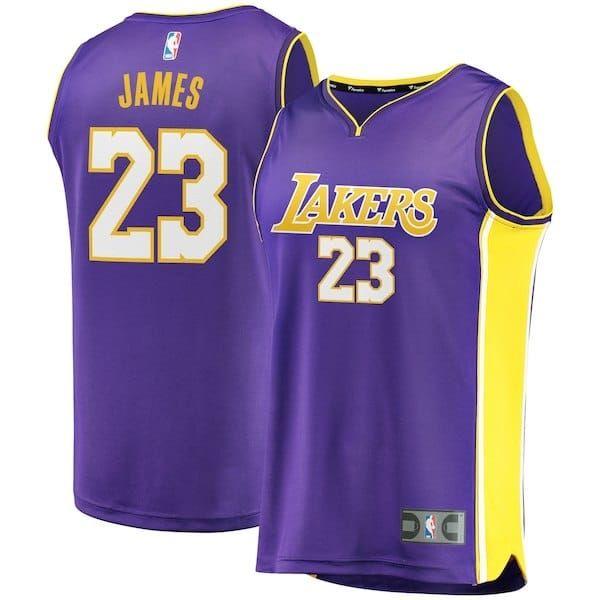 Purple Lebron James Lakers Jersey 23 S 3x 4x 5x Swingman Big Tall La Lakers Apparel In Big Sizes Up T Lebron James Lebron James Lakers Los Angeles Lakers