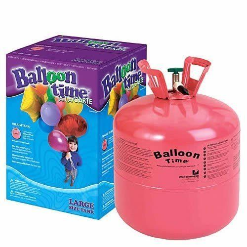 Balloon Time Disposable Helium Tank - can I reuse this?!? long term investment