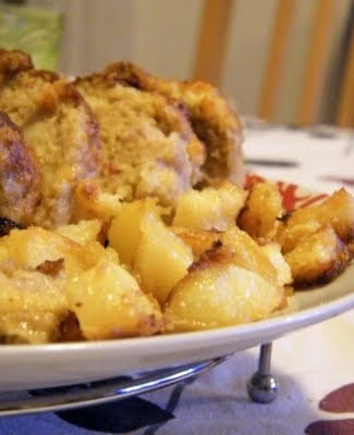 polpettone con le patate