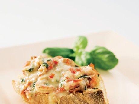 Gratinerad kräftsmörgås – Recept – Allt om Mat