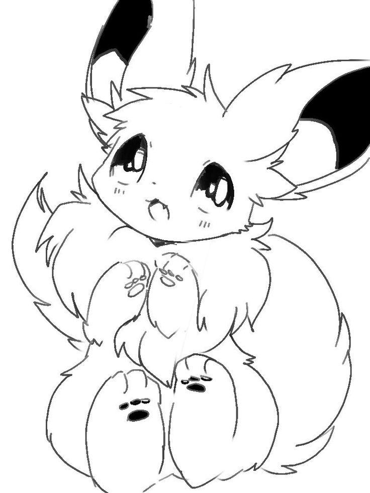 eevee whitelate  pokemon zeichnen pokemon