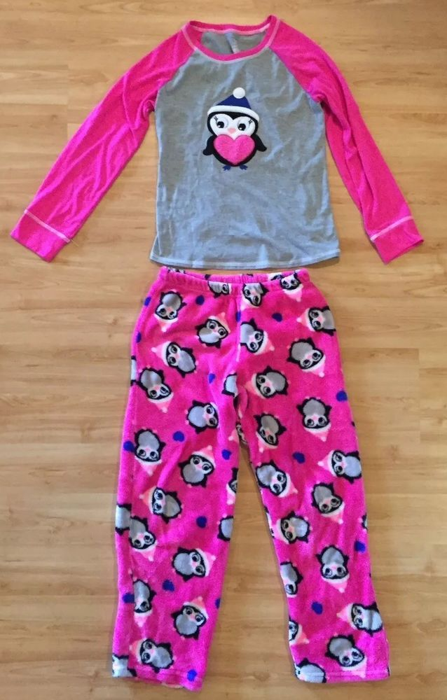 NWT Girl Polo Ralph Lauren 2 pc Blue White Pink Floral Pajama pouch Set Sz 6X