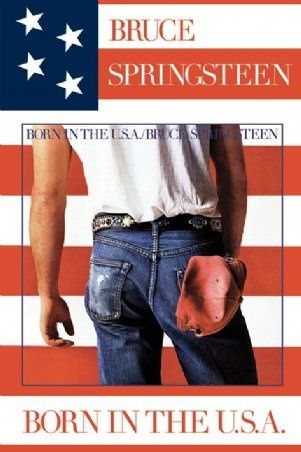 Bruce Springsteen born in the USA it was mum & dads album. listened to this so much as a kid, sat with the song sheet singing along