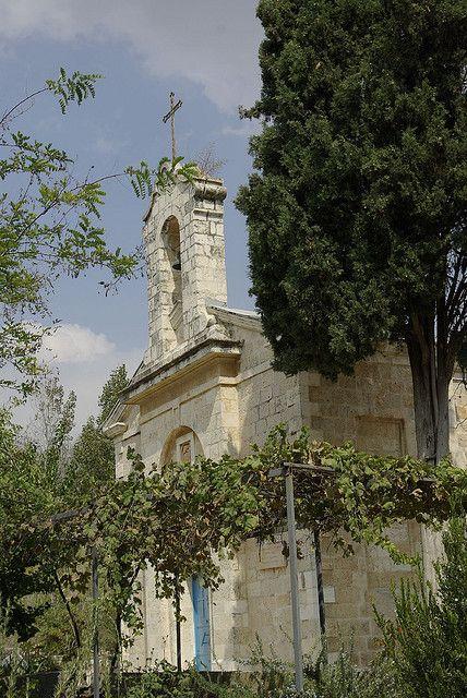 Ein Karem, near Jerusalem, is the birthplace of John the Baptist  Flickr - Photo Sharing!