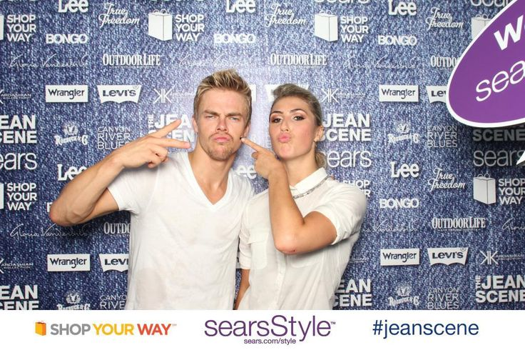 Emma Slater: Hanging out in @Central Park NYC with @searsStyle, making a #jeanscene with the best denim in the business!