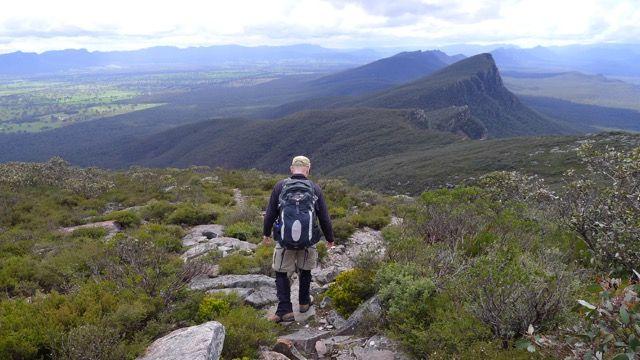 Mount Abrupt in the southern Grampians, Victoria, Australia