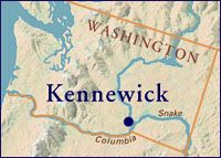 Kennewick man. ..you died at least 9,000 years ago...You will rest again soon!  #genetic connections...surely there are many others...