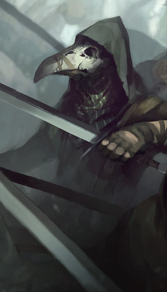 Plague doctor by QuintusCassius