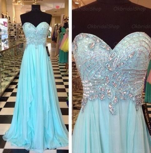 The+Tiffany+blue+prom+dress+are+fully+lined,+4+bones+in+the+bodice,+chest+pad+in+the+bust,+lace+up+back+or+zipper+back+are+all+available,+total+126+colors+are+available. This+dress+could+be+custom+made,+there+are+no+extra+cost+to+do+custom+size+and+color.  Description+of+Tiffany+blue+prom+dres...