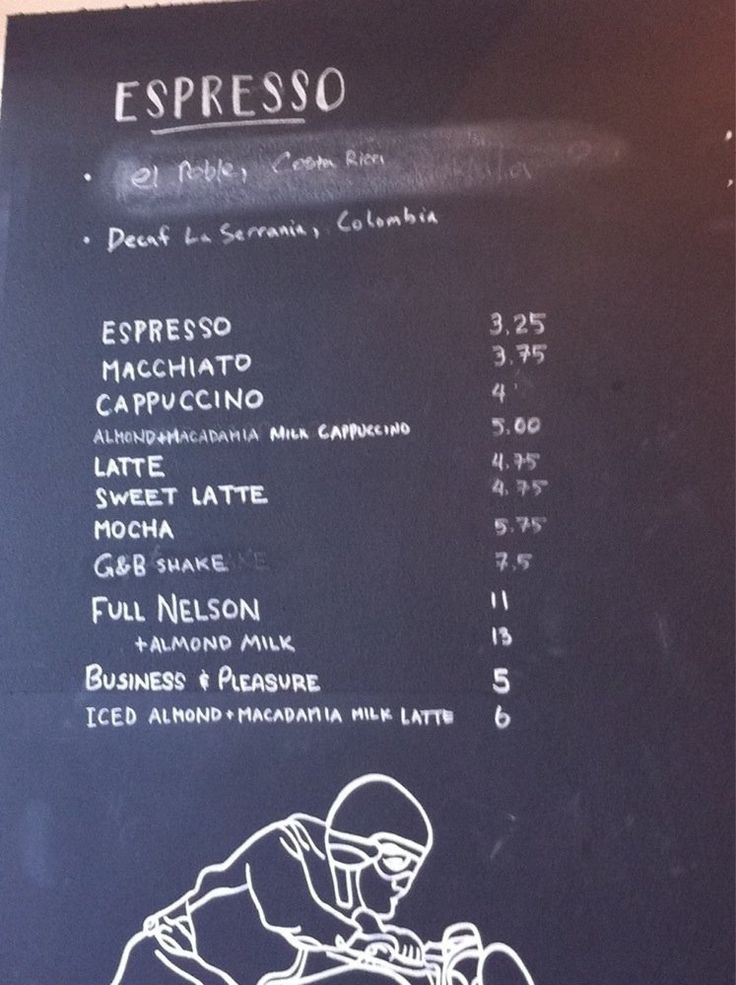 28 best coffee menu images on Pinterest Cafes, Restaurant and Bee - coffee menu
