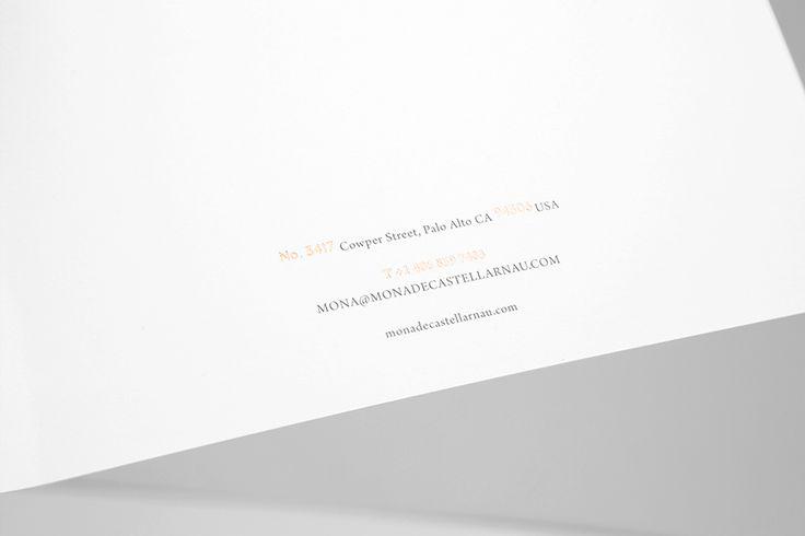 We Love Letterheads. Design by www.anagrama.com
