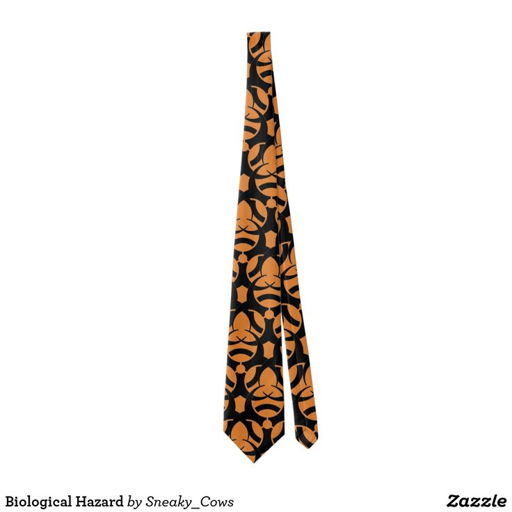 Biological Hazard Tie