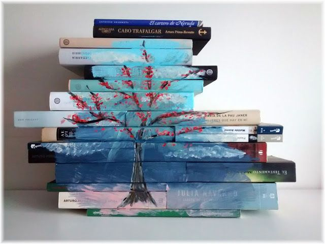 Uptist - my happy art : Dream books - Pinta en tus libros antiguos y un po...