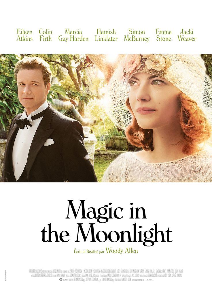 Magic in the Moonlight est un film de Woody Allen avec Colin Firth, Emma Stone. Synopsis : Le prestidigitateur chinois Wei Ling Soo est le plus célèbre magicien de son époque, mais rares sont ceux à savoir qu'il s'agit en réalité du nom de s