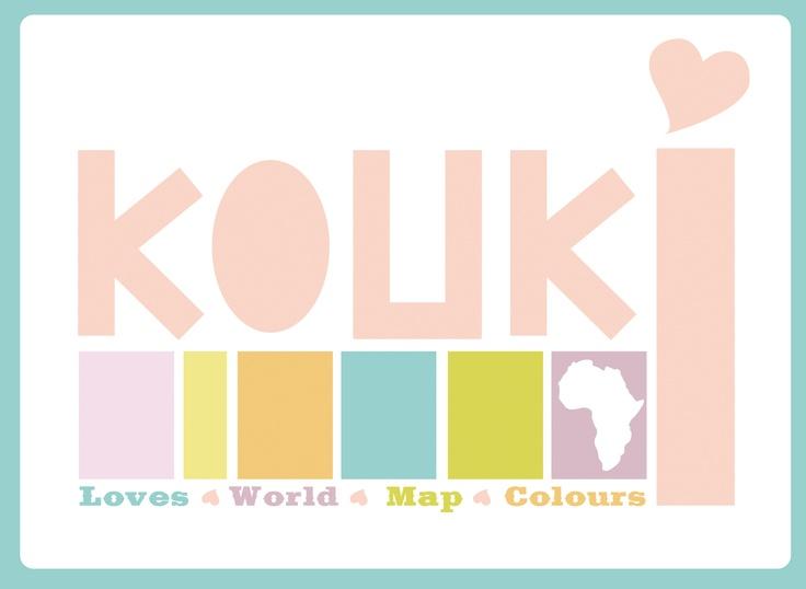 KOUKI Graphic Design.. World Map Inspiration Digital Illustration and Typography